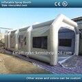 Envío libre 10 m inflable coche cabina de pintura cabina de pintura cabina de pintura inflable tienda inflable para la venta