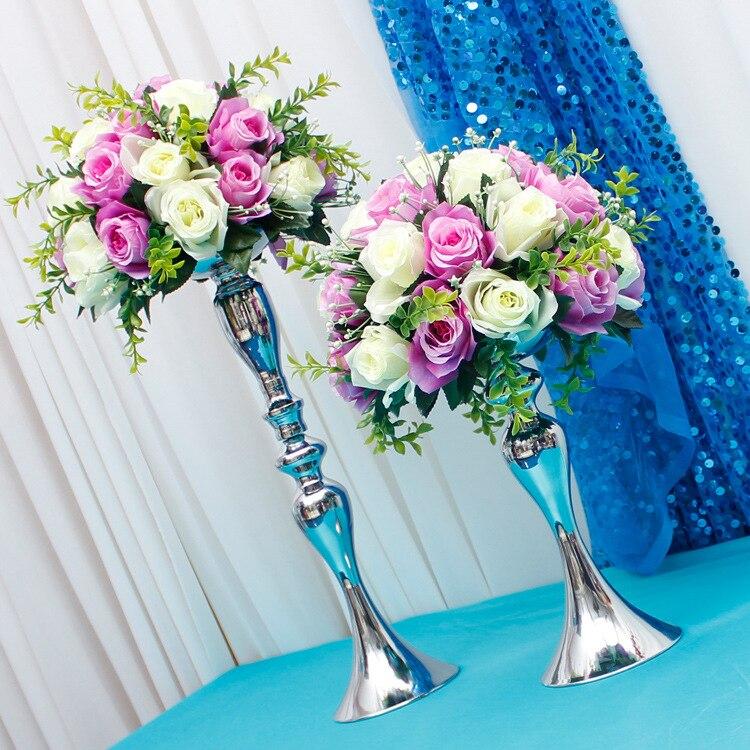 cvijet držač lopte prikaz vjenčani stol središnji ukras - Za blagdane i zabave - Foto 4