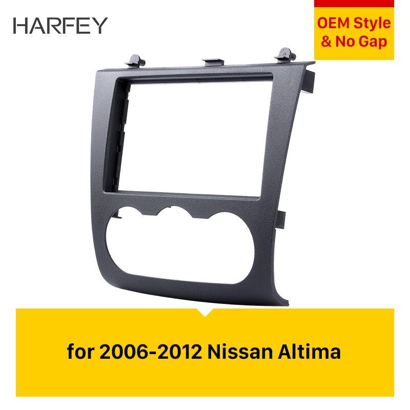 Harfey Altima Kit de montage cadre d'installation autoradio DVD Fascia pour 2006 2007 2008 2009 2010 2011 2012 Nissan lecteur Audio