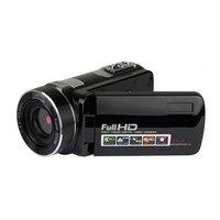 Оптовая продажа черная Золотая портативная Full Hd 1080 p Цифровая видеокамера ночного видения с съемными видеокамерами для дома и путешествий