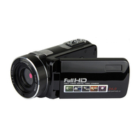 Wholesale Black Gold Portable Full Hd 1080p Night Vision Digital Video Camera with Remoter Camcorders Home Outdoor Traveling Use