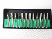 30pcs New Diamond Dental Burs Millers Tooth Drill Jewelers polisher 2.35mm