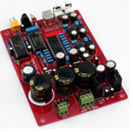 Free shipping  SAA7220 + disassemble disassemble TDA1541A + CS84Fiber Coaxial USB PCM2704 DAC Board AC15-0-15V 10W high quality
