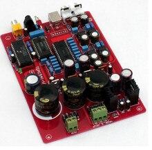 Livraison gratuite SAA7220 + démonter démonter TDA1541A + CS84Fiber Coaxial USB PCM2704 DAC Conseil AC15-0-15V 10 W haute qualité