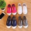 2016 primavera menina denim lavado lona crianças shoes verão casual crianças sneakers boys & girls jeans tênis de corrida shoes tamanho 20-29