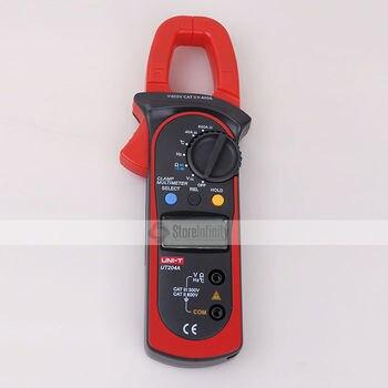 цена на Uni-T UT204A Auto-Ranging AC DC Digital Current Voltage Handheld Clamp Meter Multimeter