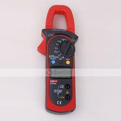 Uni t UT204A automatyczny pomiar napięcia AC DC cyfrowy miernik napięcia zacisk ręczny multimetr w Mierniki cęgowe od Narzędzia na