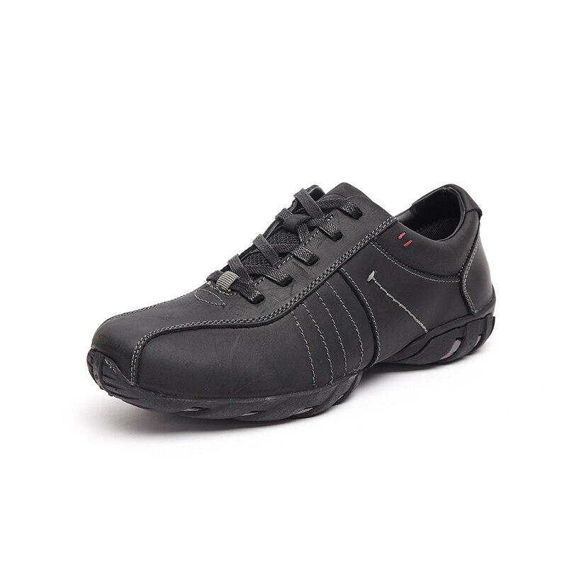 57586563d90 LINGGE zapatos de los hombres Cuero geniuno moda cuero zapatos ...