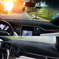 JY DashMat Dash Mat Cover Dashboard Car Interior Pad Car Styling Protector Accessories Fit For TESLA