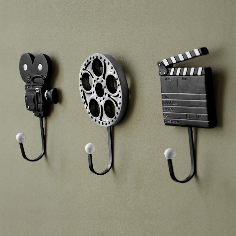 Decorative Wall Hook aliexpress : buy iron coat hooks fashion door after metal coat