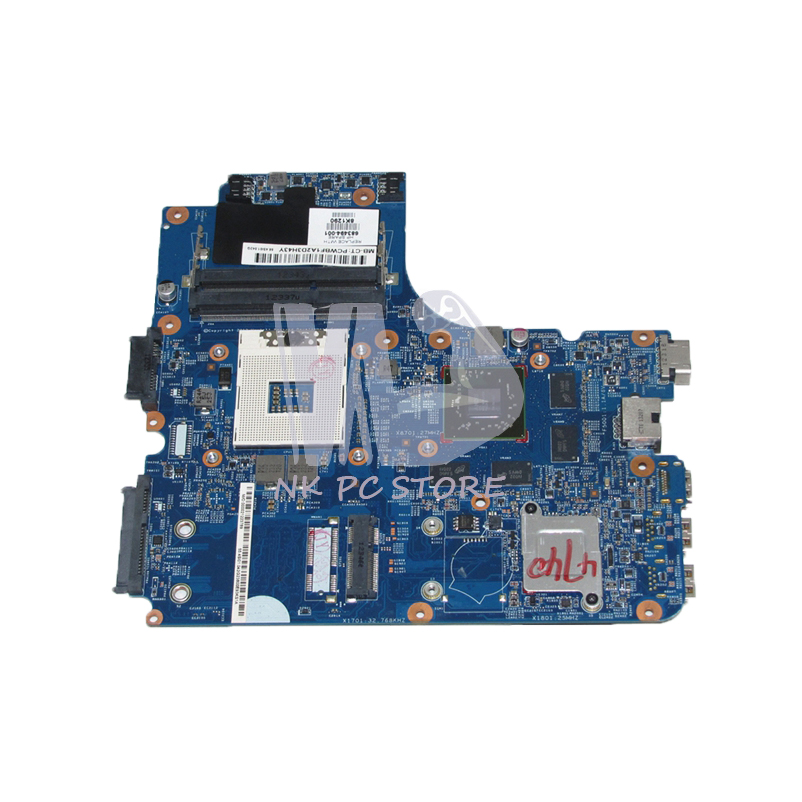 NOKOTION 683494-001 Laptop Motherboard For HP 4540S 4740S 4441s MAIN BOARD HM76 DDR3 HD7650M 2GB Video Card 683495 001 for hp probook 4540s 4441 laptop motherboard pga989 hm76 ddr3 tested working