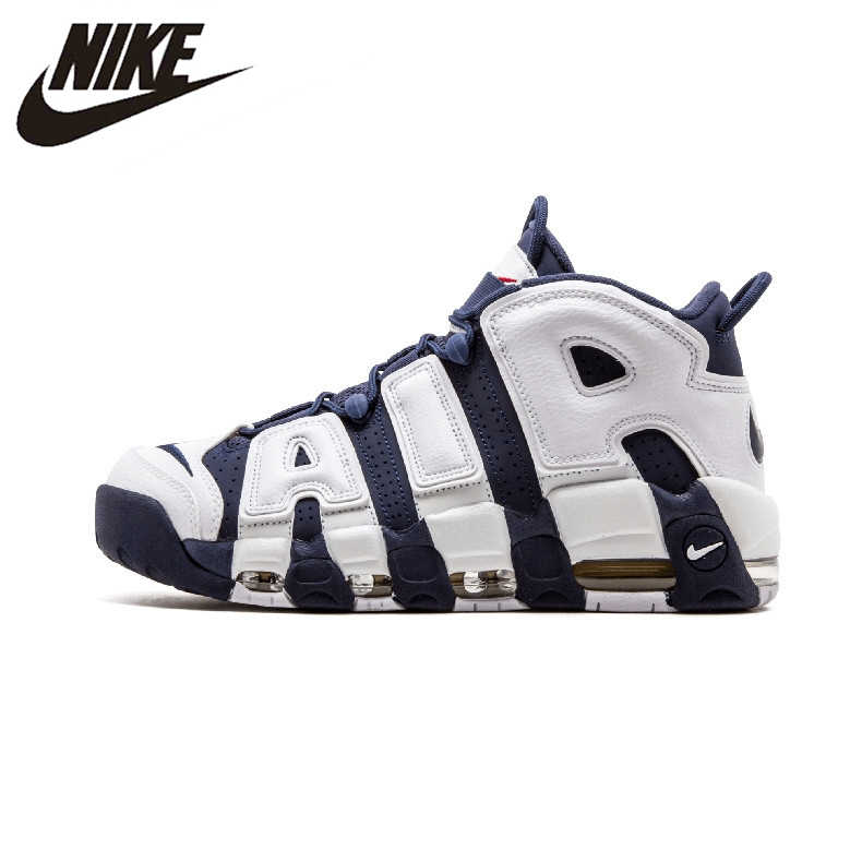 best website b4e0e 4eb94 Nike Air More Uptempo Olympics Men s Basketball Shoes Sports Sneakers  Trainers 414962-104