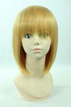 Armin Arlart 40cm Gold Short Cosplay Anime Wig