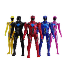 Poder Equipe Ranger Collectible Action Figure 6 pçs/set A Mecha Seis Besta Super Rangers Mighty Morphin Power(China)