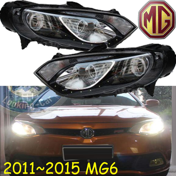 MG6 headlight,2011~2015,Fit for LHD,Free ship! MG6 fog light,2ps/set+2pcs Aozoom Ballast; MG 6