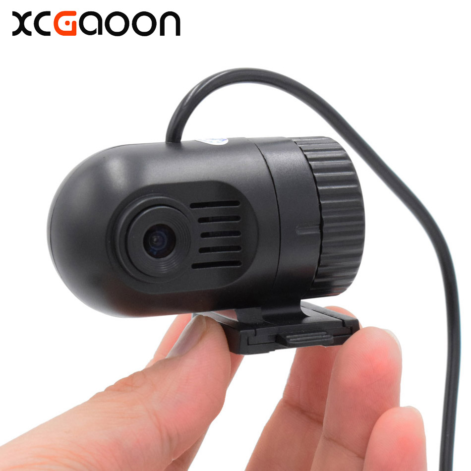 XCGaoon New mini Car DVR Video Recorder camera HD 720P 30FPS Chip Novatek 96220 With 140 degree wide angle lens