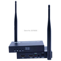 200 м Беспроводной HDMI адаптер Extender 1080 P WI FI аудио видео Трансмиссия HDMI приемник передатчик Комплект 660ft с петлей из и ИК