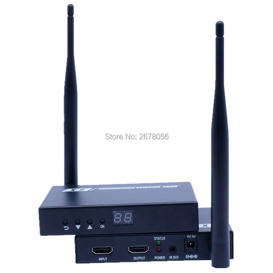 200M Wireless HDMI Adapter Extender 1080P WIFI Video Audio Transmission HDMI Transmitter font b Receiver b
