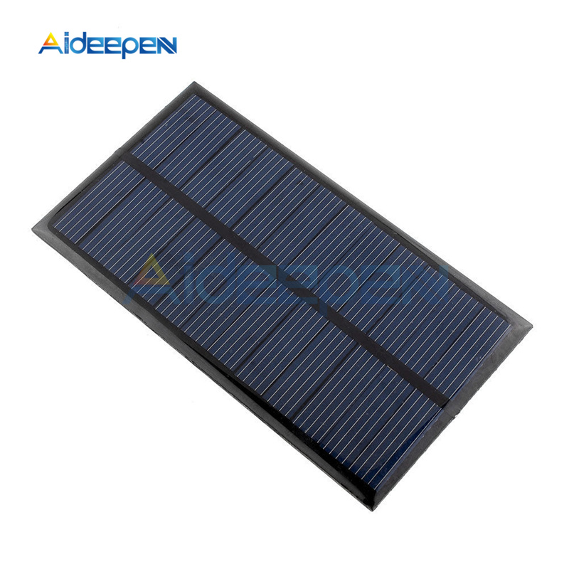 Solar Panel 6V 1W 100ma Mini Solar System DIY For Battery Cell Phone Chargers Portable Solar Cell