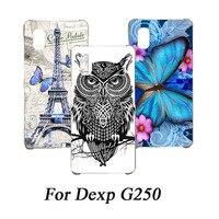 DIY kleurrijke Case Cover Voor DEXP G250 Silicone Back Cover SOFT TPU Case Voor DEXP G250 G 250 Telefoon Case beschermhoes