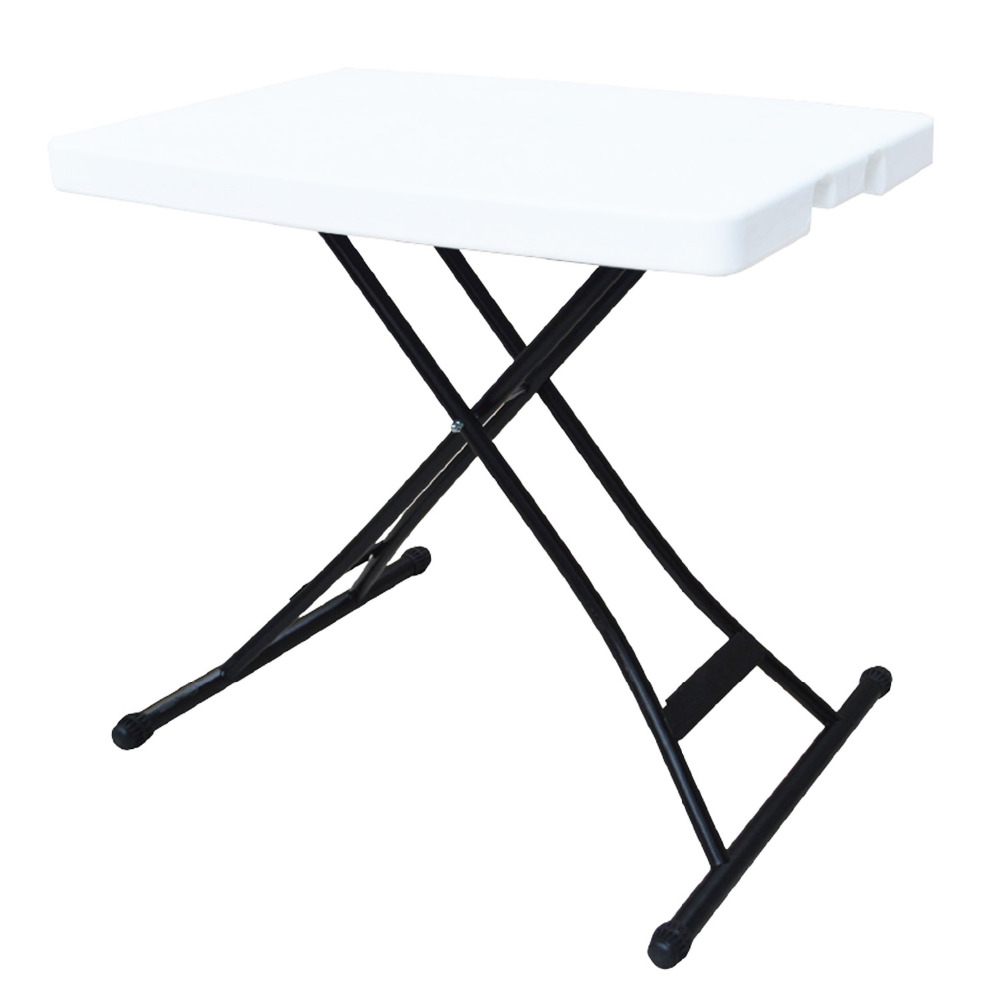 Alextend 39x20 Inch Adjustable Height Folding Table White In Outdoor Tables  From Furniture On Aliexpress.com | Alibaba Group