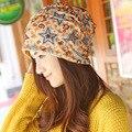 2017 new ladies hat, scarf hat Baotou Korean winter tide, multi-purpose set head cap, outdoor warm cap,new women hat