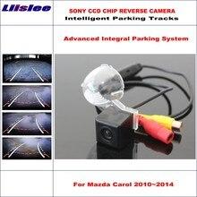 Liislee HD SONY Car Rear Camera For Mazda Carol 2010~2014 Intelligent Parking Tracks Reverse Backup / NTSC RCA AUX 580 TV Lines все цены