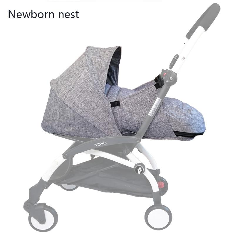 Wózek dla dziecka urodzenia gniazdo śpiwór dla noworodka akcesoria do wózka dla Babyzen yoyo + Yoya Babytime wózki koszyk zimowy w Akcesoria do wózków od Matka i dzieci na AliExpress - 11.11_Double 11Singles' Day 1