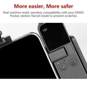 Image 2 - DJI OSMO przenośny kieszonkowy podstawka pod telefon uchwyt na z mikrofonem do montażu na zimno OSMO kieszeń Vlogging akcesoria do aparatu