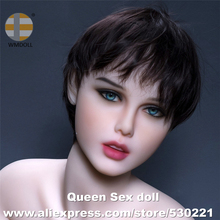 NEW WMDOLL Top Quality Oral Sex Doll Head For Silicone Doll Japanese Love Doll Heads With Tooth Realistic Sexy Toy