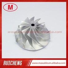 TB3403 441341-0002 11+ 0 лопастей 48,55/69,00 мм Высокая производительность турбо заготовка/Фрезерование/алюминиевый сплав колеса компрессора для 452059-5001