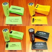 100 adet/grup lityum pil PVC plastik kasa 26650 pil özel kapasite etiketi yalıtım Shrink Film ısı Shrink boru