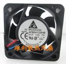 Free Delivery. Original 12V 0.35A AFB0412SHB 4015 4CM 3 wire cooling fan tachometer