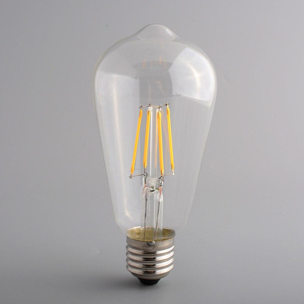 Lightinbox Office Exhibition Light Lamp Useful Bulb ST64 Vintage Retro Edison Style E27 4W Bright LED