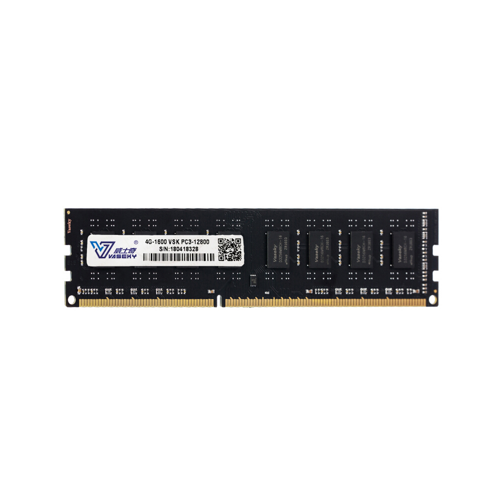 Vaseky 8G Memory <font><b>DDR3</b></font> 1600MHz 8G <font><b>4G</b></font> Desktop Memory High Speed Read/Write Noiseless Desktop Memory <font><b>DDR3</b></font> 1600MHz image