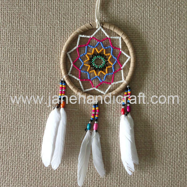 Dream Catchers With Beads 400 new design beads inside High quality Shipping Free DIA 40 inch 18
