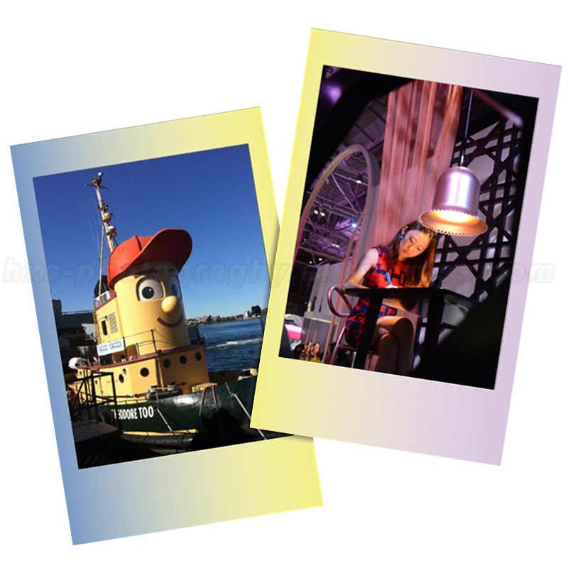 Genuino 10 Lenzuola Fujifilm Instax Mini Immediata Pellicola Amaretto Carta Fotografica Per Fuji Mini 8 9 7s 70 50 90 25 macchina fotografica SP1 SP2 Liplay