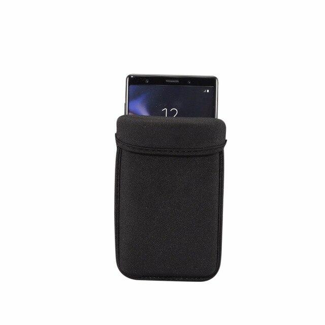 """ユニバーサルネオプレン保護タブレット用 iphone XR XS Max X 6 7 8 プラスサムスン S6 s7 S8 S9 プラス 4.1 """"〜 6.4"""" インチ"""