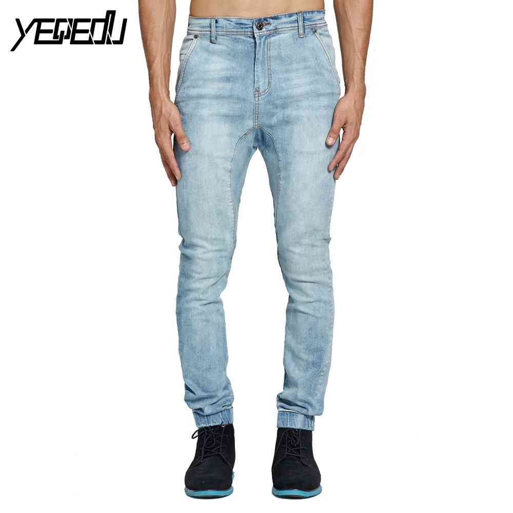 #2113 Fashion Stretch Joggers jeans Designer jeans men high quality Skinny Pantalon slim boot hombre Biker jeans men Distressed