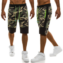 ZOGAA 2019 New Men Camouflage Shorts Casual Cotton Male Hot Sale Military Cargo Knee Length Summer Short Pants