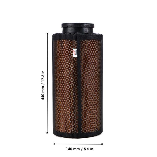 Couvercle de protection antipoussière UTV noir   Pour Polaris RZR XP1000 XP4 1000, housse de protection pour prise dair de voiture 2014 2015 2016 2017 2018