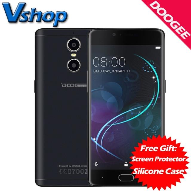 Оригинал DOOGEE Shoot 1 4Г LTE Мобильный телефоны Android 6.0 2ГБ ROM 16ГБ ROM MTK6737T 1080P 13MP Камера Dual SIM 5.5 дюймов Сотовый Телефон смартфон