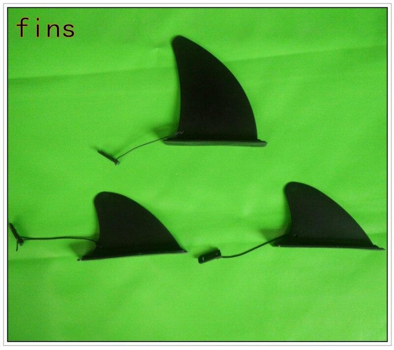 Gros haute qualité amovible surf ailettes / planche de surf noir à ailettes