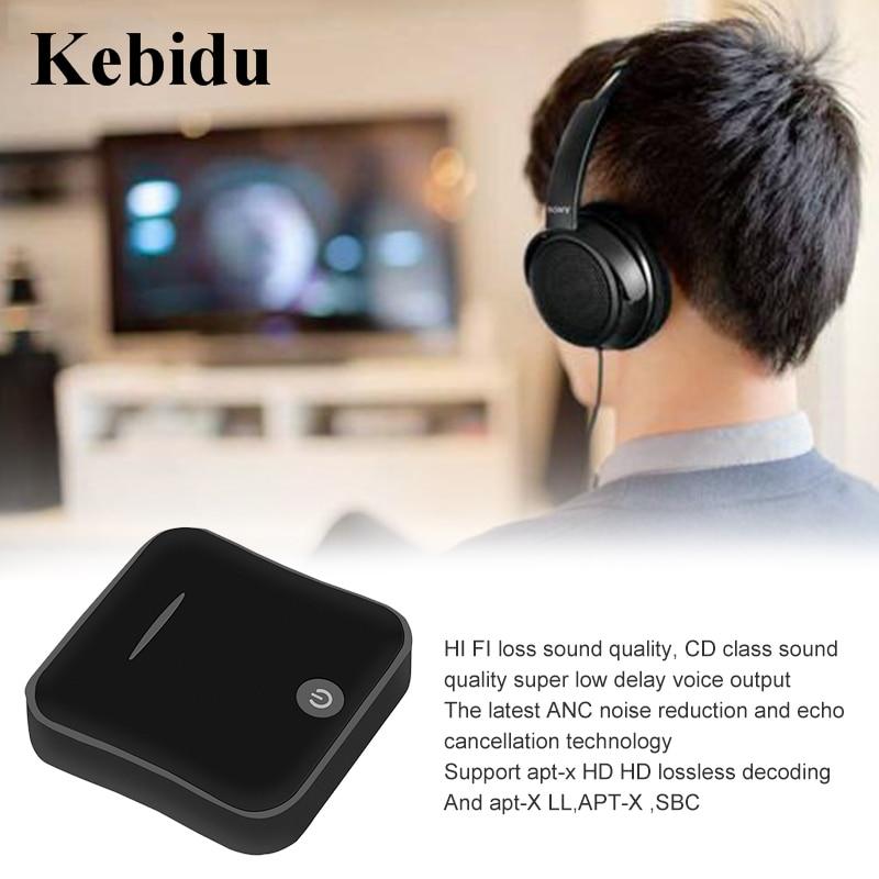 Unterhaltungselektronik Kebidu Bti-019 Bluetooth 5,0 Empfänger/transmitter Adapter Apt-x Digital Optical Toslink Und 3,5mm Wireless Audio Adapter Tragbares Audio & Video