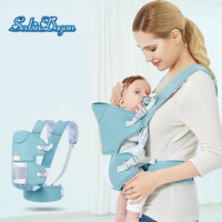 SeckinDogan Baby Carriers Odorless Baby Carrier Wrap Ergonomic Newborn Carrier Cotton Breathable Kangaroo Baby Sling Bag