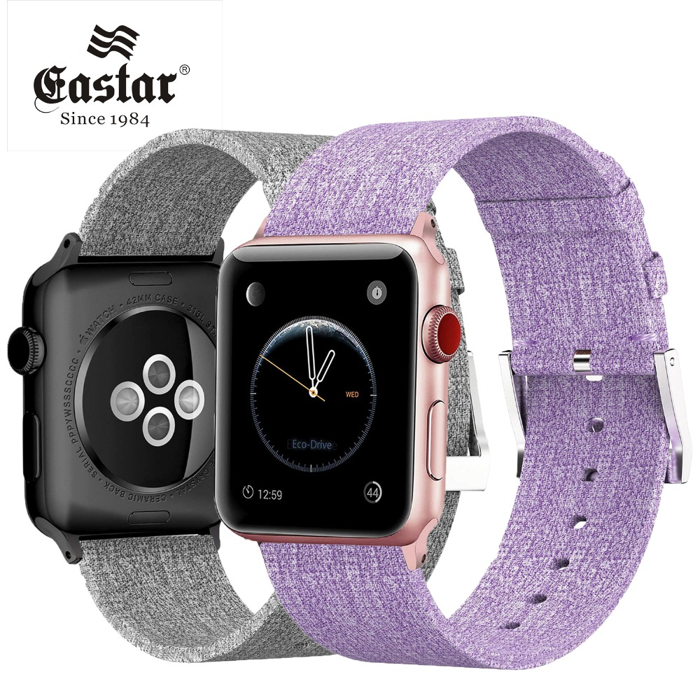 Eastar Lightweight Breathable Woven Nylon strap for apple watch band 42mm 38mm for iWatch serise 3 2 1 watchband Sport Loop встраиваемый светильник novotech farfor 369865