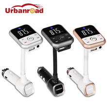 Urbanroad Auto Car Mp3 Player Bluetooth Fm Transmitter Handsfree Car Kit Mp3 Wireless Fm Transmitter Charger With Remote Control