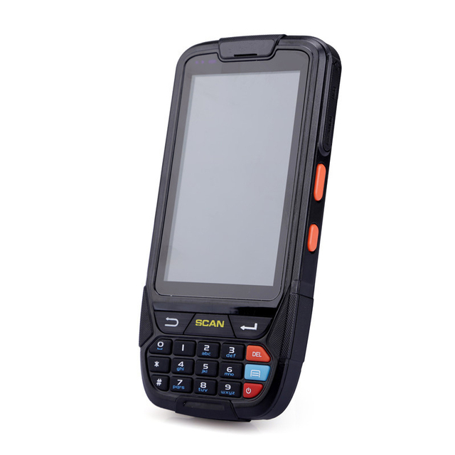 High Battery Capacity 4000mA Android Barcode Scanner Handheld Terminal PDA with 2D Barcode Scanning 1