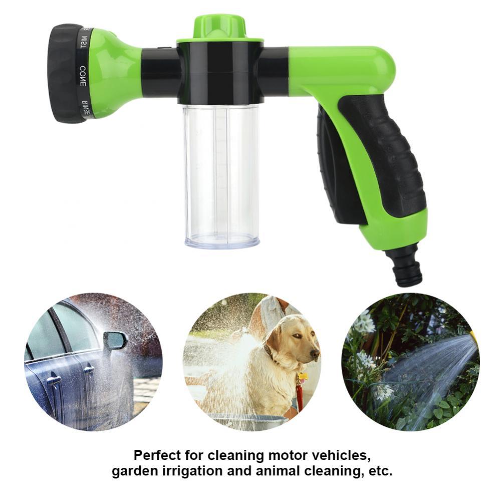 Professional Multifunction Auto Car Foam Water Gun Sprayer Car Washer Water Gun High Pressure Cleaning Home Car Washing Foam Gun
