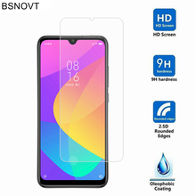 2PCS For Xiaomi Mi A3 Glass Phone Screen Protector Tempered CC9e / Film BSNOVT